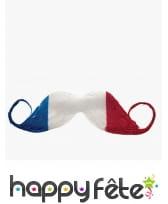 Moustache drapeau France adhésive, image 1