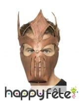 Masque de gladiateur en EVA, couleur bronze