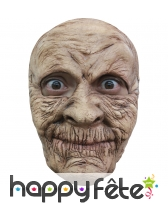Masque de grand mère effrayante