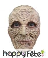 Masque de grand père effrayant en latex