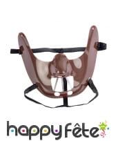 Masque d'Hannibal lecter pour adulte, image 1