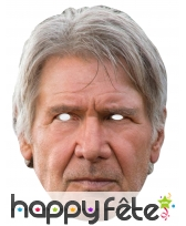 Masque de Han Solo en carton plat