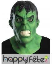 Masque de Hulk intégral pour homme, luxe