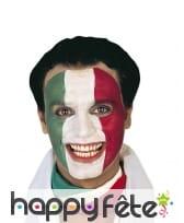 Maquillage drapeau italien, image 1