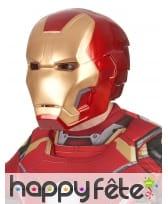 Masque de Iron Man 2 rigide pour adulte, image 1