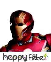 Masque de Iron Man 2 rigide pour adulte, image 3