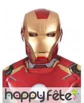 Masque de Iron Man 2 rigide pour adulte
