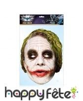 Masque de joker en carton