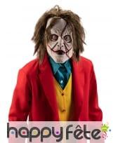 Masque de joker zombie pour homme