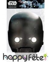 Masque de K-2SO en carton, Star Wars Rogue One, image 1