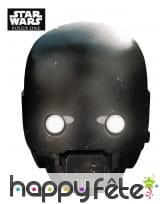 Masque de K-2SO en carton, Star Wars Rogue One