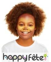 Maquillage de lion queue et oreilles pour enfant, image 3