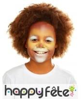 Maquillage de lion queue et oreilles pour enfant, image 4