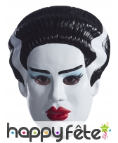 Masque de la Fiancée de Frankenstein pour femme
