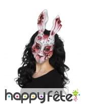 Masque de lapin diable