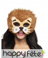 Masque de lion pour adule, facial