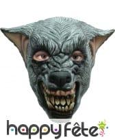 Masque de loup garou enragé