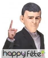 Masque de Manuel Valls humoristique