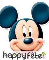 Masque de Mickey en carton