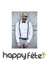 Masque de momie en papier, image 1