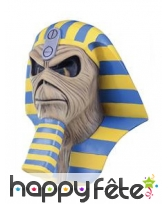 Masque de momie pharaon Powerslave, Iron Maiden