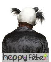 Masque de monstre clown avec cheveux noirs, image 1