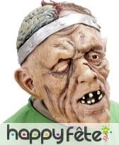 Masque de monstre trépané intégral