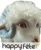 Masque de mouton complet