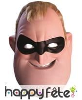 Masque de Mr Indestructible en carton, adulte