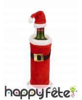 Manteau de Noël pour bouteille