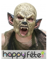 Masque d'orc en latex