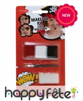 Maquillage de pirate pour enfant