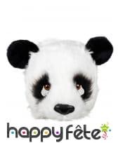 Masque de panda pour adulte, facial, image 1
