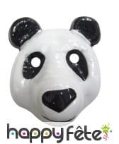 Masque de panda pour enfant
