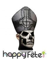 Masque de papa emeritus intégral, Ghost