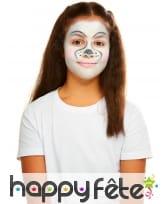 Maquillage Dalmatien queue et oreilles pour enfant, image 3