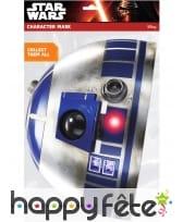 Masque de R2-D2 en carton, image 1