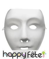 Masque de robot a peindre, image 1