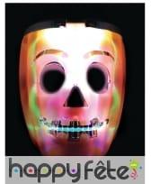 Masque de robot citrouille lumineux, image 1