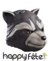 Masque de Rocket Raccoon pour adulte modèle deluxe