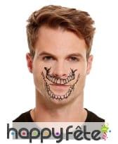 Maquillage de squelette par transfert pour adulte, image 1