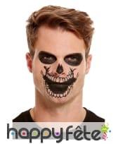 Maquillage de squelette par transfert pour adulte, image 2