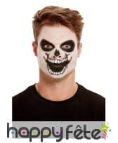 Maquillage de squelette par transfert pour adulte, image 3