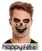 Maquillage de squelette par transfert pour adulte, image 5