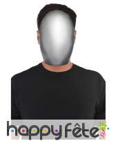 Masque de sans visage taille adulte