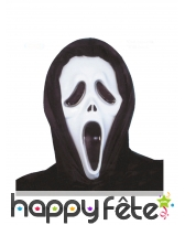 Masque de Scream pour adulte