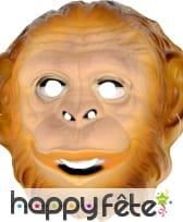 Masque de singe pour adulte