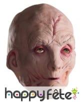 Masque de Snoke le chancelier suprême, modèle 3/4