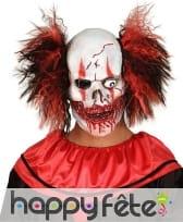 Masque de squelette clown avec un oeil
