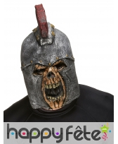 Masque de squelette combattant romain intégral